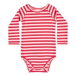 Mestola RIB Striped Body, red-white