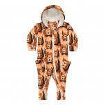 Metsola Squirrel Jumpsuit, Cashew