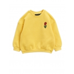 Mini Rodini Viola Sweatshirt, Yellow