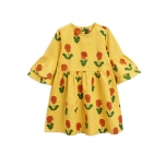 Mini Rodini Viola Dress, Yellow