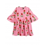 Mini Rodini Violas Dress, Pink