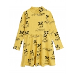 Mini Rodini Mozart Dress, Yellow