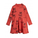 Mini Rodini Mozart Dress, Red