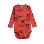 Mini Rodini Bodi Mozart LS, Red
