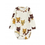 Mini Rodini Body LS, Cat Choir