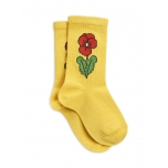 Mini Rodini Viola Socks, Yellow
