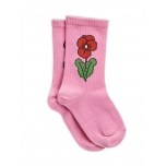 Mini Rodini Viola Socks, Pink