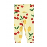 Mini Rodini Cherry Lemonade Newborn Leggings