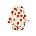 Mini Rodini Strawberry Wrap Body
