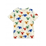 Mini Rodini Rabbit T-särk, Multicolor