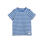 Mini Rodini Stripe Ribbed T-shirt
