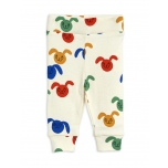 Mini Rodini Rabbit NB Leggings, Multicolor