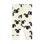 Mini Rodini Rabbit NB Leggings, Black