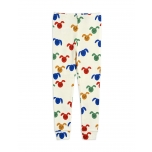 Mini Rodini Rabbit Leggings, Multicolor