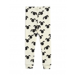 Mini Rodini Rabbit Leggings, Black