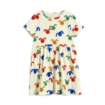 Mini Rodini Rabbit Dress, Multicolor