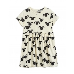 Mini Rodini Rabbit Dress, Black