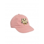 Mini Rodini Cat Cap, Pink