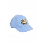 Mini Rodini Cat Cap, Light Blue