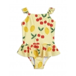 Mini Rodini Cherry Lemonade Swimsuit with Skirt