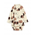 Mini Rodini Fluffy Dog Body, Beige