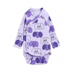 Mini Rodini Fluffy Dog Body, Purple