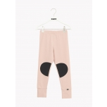 Papu Patch Leggings, Dusty Pink/Black