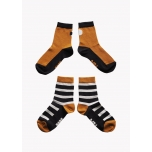 Papu Sokid, 2 paari, Black/Brown/Grey