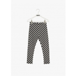 Papu Stripe Leggings, Black / Sand