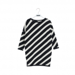 Papu Knit Dress Stripe, Puffy Stripe