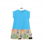 Papu Gather Hem Dress, Band