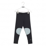 Papu Patch Leggings, Black/Muted Green
