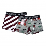 Raspberry Republic Boxers Candy Cane / Elves and Gnomes