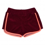 Raspberry Republic Terry Shorts, Crimson